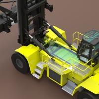 Hyster mette a punto un nuovo carrello per la movimentazione dei container ad emissioni zero
