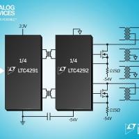 Controllore PSE Isolato 802.3bt PoE++ a 4-Porte, eroga fino a 71,3W