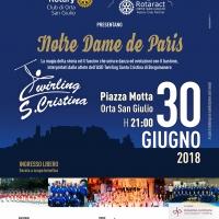 Twirling Santa Cristina: Spettacolo benefico ad Orta San Giulio il 30 giugno ore 21.00
