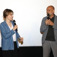 """Paola Cortellesi presso l'Uci Cinema di Parco Leonardo per presentare la riedizione del suo film """"come un gatto in tangenziale"""