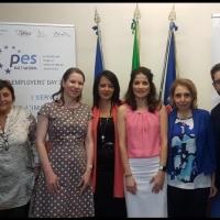 """Campania, Palmeri: """"Delegazione dell'OCSE in visita ai Servizi per l'impiego campani."""""""