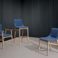 Armonia di forme e volumi per Wave, la nuova collezione di sedute Blifase
