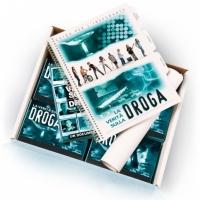 Materiale informativo sulle droghe ad Urago Mella - Brescia.