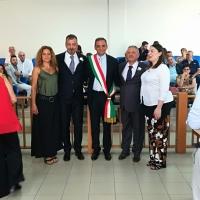 Brusciano: Il 29 Giugno 2018 il Sindaco Avv. Giuseppe Montanile ha celebrato la prima Unione Civile nella storia del Comune di Brusciano.(Scritto da Antonio Castaldo)
