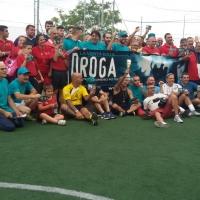 L'ORGOGLIO DI DIRE NO ALLA DROGA  Celebrata a Cagliari la Giornata Internazionale Contro l'uso di Droga  con un quadrangolare di calcio a 5