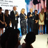 Grande successo per Viola Ambree alla sfilata 'Next Trend' organizzata da Intesa San Paolo durante la settimana della moda AltaRoma. Il brand presenta la collezione 'Ipazia'
