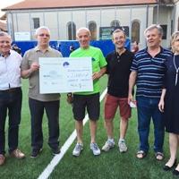 2° Pedalata tra le Stelle: inaugurato il campetto da calcio dell'Oratorio di Armeno (NO)