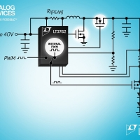 LED Controller boost sincrono da 60VOUT