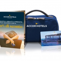 AccorHotels lancia su Amazon.it il beauty case che ti porta in vacanza