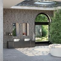 """Kit doccia """"Zen"""" di Vicario Srl. L'ambiente doccia si armonizza con la natura"""