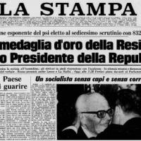 Brusciano: Il 40esimo Anniversario dell'elezione a Presidente della Repubblica di Sandro Pertini. Un ricordo del sociologo e giornalista Antonio Castaldo