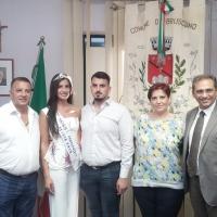 Brusciano: Nunzia Amato Miss Mondo Italia volerà in Cina come finalista Miss World 2018. Conferenza stampa con genitori e Sindaco Avv. Peppe Montanile. (Scritto da Antonio Castaldo)