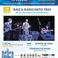 Raiz & Radicanto trio protagonisti del Festival