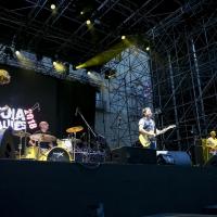 La grinta esplosiva dei Predarubia sul palco del Pistoia Blues. La band lucchese premiata anche come miglior video indipendente per