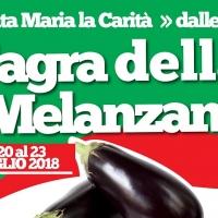 """Sagra della melanzana a Santa Maria la Carità, l'ortaggio anche in versione """"street food"""" nella sua festa"""