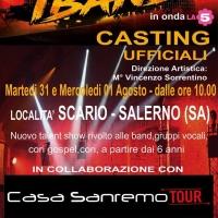 Casa Sanremo Tour e il nuovo talent show di La5 iBand, i contest fanno tappe a Scario e Palermo