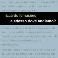 """Project Leucotea annuncia l'uscita in formato ebook di """"E adesso dove andiamo?"""" di Riccardo Fornasiero"""