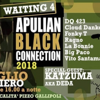 Waiting 4 Apulian Black Connection feat. Katzuma il 28 luglio @Cotriero (Le)