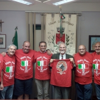 Italy Brusciano Naples: Towards the 143rd Gigli's Feast with new Municipal Administration and Mayor Adv. Peppe Montanile. Best wishes have come from USA . (Written by Antonio Castaldo)