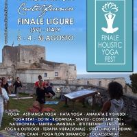 FINALE HOLISTIC YOGA FEST: Dal 3 al 5 agosto a Finale Ligure (SV)