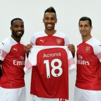 Acronis annuncia la partnership tecnologica con l'Arsenal Football Club