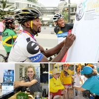 """I volontari di """"Un mondo libero dalla droga"""" in azione ai Giochi del Commonwealth 2018"""