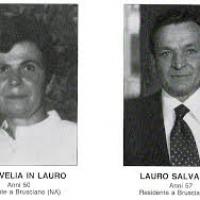 Bologna 2 agosto 1980-2018 nel 38° Anniversario della Strage alla Stazione Centrale. Fra le 85 vittime due cittadini di Brusciano i coniugi Salvatore Lauro e Velia Carli. (Scritto da Antonio Castaldo)