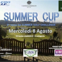 Booking campi golf Roma - Country Club Castelgandolfo - agosto sempre aperti