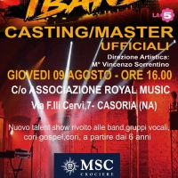 Ultima tappa di iBand a Casoria, appuntamento alla Royal Music per il talent musicale di La5