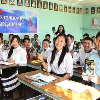 Gioventù per i Diritti Umani riscuote un grande successo nelle scuole della Mongolia