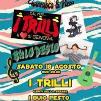 Serata zeneize al Rodizio del Pian de Grilli con I Trilli e Buio Pesto