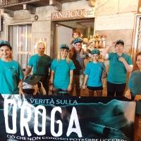 A Castelnuovo Garfagnana i volontari di Scientology in azione contro la droga