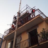 Brusciano Innalzamento Borda Giglio Croce per la 143esima Festa dei Gigli in Onore di Sant'Antonio di Padova. (scritto da Antonio Castaldo)
