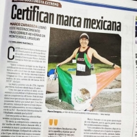 Marco Antonio Zaragoza Campillo record messicano alla 48h Uruguay Natural