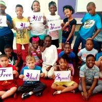 Una scuola elementare in Nord Carolina adotta la campagna di Gioventù per i Diritti Umani