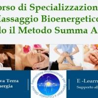 Percorso di Specializzazione in Massaggio Bioenergetico secondo il Metodo Summa Aurea®