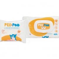 La linea The Pee & The Poo si arricchisce con le nuove salviettine  detergenti ultra soft:  tutta la qualità e la morbidezza per la pelle dei più piccoli