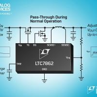 Surge stopper switching a canale-N ad alta efficienza          protegge da transienti fino a 150V