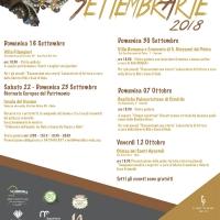 SettembrArte 2018: dal 16 settembre eventi culturali gratuiti a cura dell'Associazione Meridies