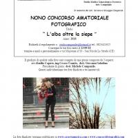 L'alba oltre la siepe, nuovo photo contest in Terra di Lavoro a Caserta per appassionati