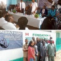 """I programmi informativi di """"Un Mondo Libero dalla Droga"""" arrivano in Guinea"""