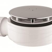 Nuova piletta ribassata di Vicario Srl. Funzionalità, igiene e design per il piatto doccia