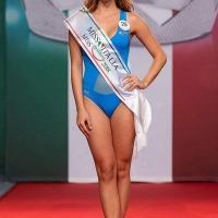 I momenti finali del concorso Miss Italia