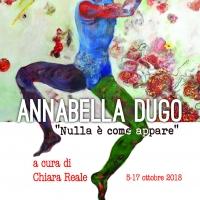 Annabella Dugo al Pan di Napoli, mostra personale di pittura dal 5 al 17 ottobre