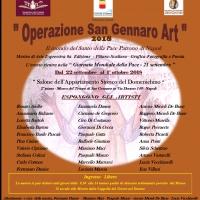 Operazione San Gennaro Art 2018, nel mese del Santo Patrono di Napoli ritorna la mostra al Duomo