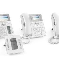 I nuovi telefoni IP da tavolo bianchi di Snom: un vero schianto!