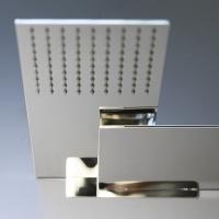 Damast presenta Marco Polo: un soffione combinato a parete di 5mm di spessore.