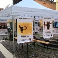Iniziativa per la Giornata Internazionale della Pace in Piazzetta Vescovado a Brescia