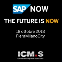 ICM.S al SAP NOW di Milano con S/4HANA Cloud