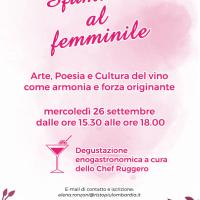 """""""Sfumature al femminile"""" Arte, Poesia e Cultura del vino si incontrano a Varedo"""